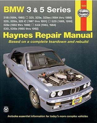 Bmw 3 and 5 Series Automotive Repair Manual By Warren, Larry/ Haynes, John Harold